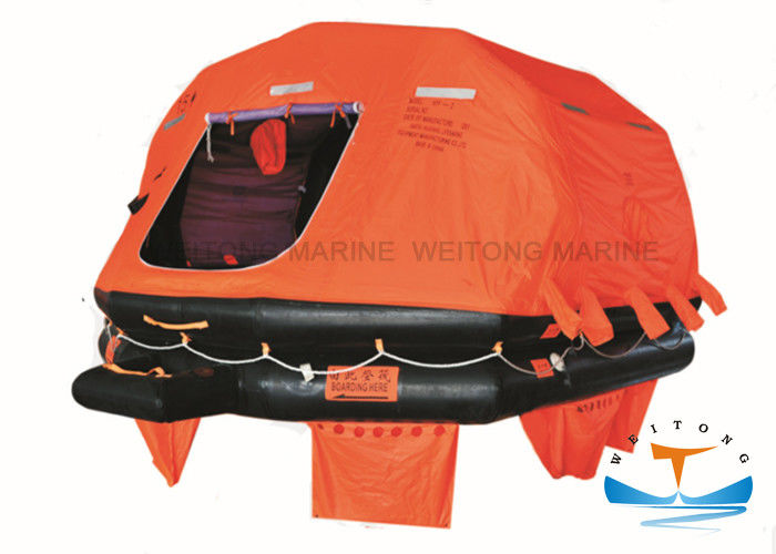 Emergency Self Inflating Raft Safe Fast Boarding 6-37 Person Customized Service