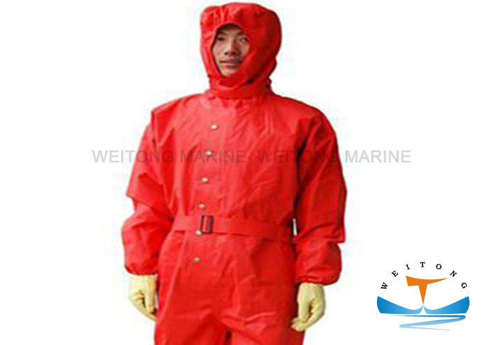 Unisex Marine Fire Fighting Equipment Light Type Chemical Protective Suit